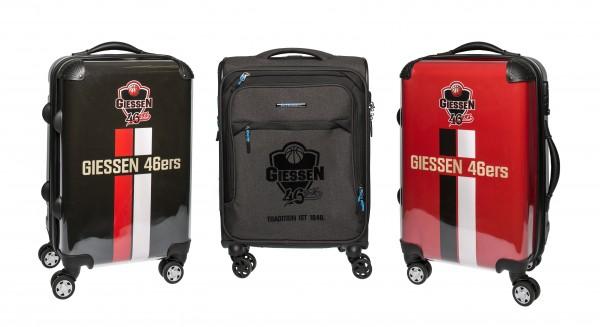 Handgepäck-Koffer im 46ers-Design, drei Ausführungen