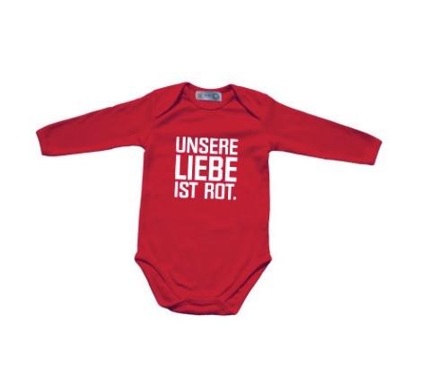 "Baby-Body Langarm ""ULIR"" rot"